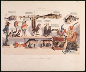 Eugène-Hippolyte Forest, ANIMAL KINGDOM. Natural History Cabinet