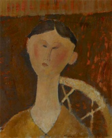 Amedeo Modigliani, Portrait of Mrs. Hastings,1915