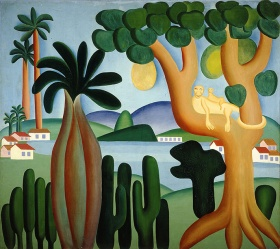 Tarsila do Amaral, Postcard