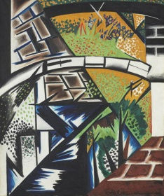 Natalia Goncharova, The Bridge