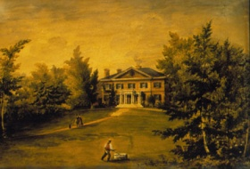 attributed to H.B. Lane The Grange c. 1835