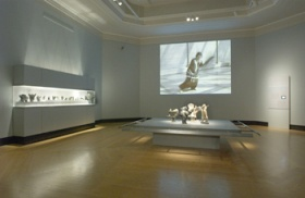 Inuit Art in Motion Installation view