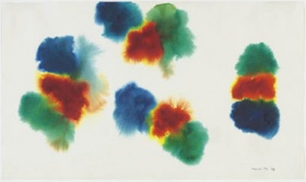 Gershon Iskowitz Untitled 1978 watercolour paper