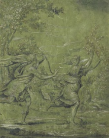 "Unknown (Italian, 16th c.) ""Apollo Pursuing Daphne"""