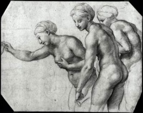 Raphael (Italian, 1483-1520), The Three Graces