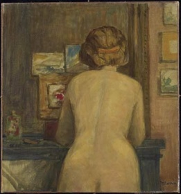 James Wilson Mortice,Standing Nude, from the Back 1912