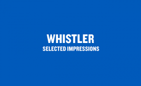 Whistler: Selected Impressions