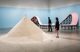 As If Sand Were Stone installation view