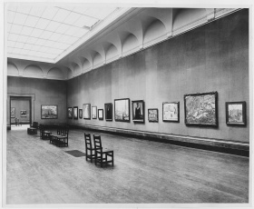 Exhibit at the Art Gallery of Ontario in 1920.