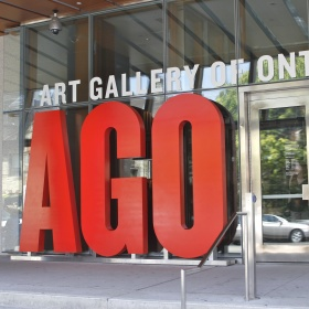 AGO Sign at the North Entrance