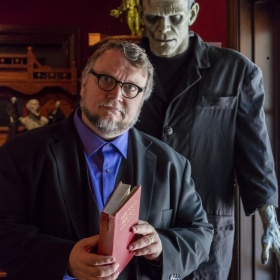 Portrait of Guillermo del Toro at Bleak House