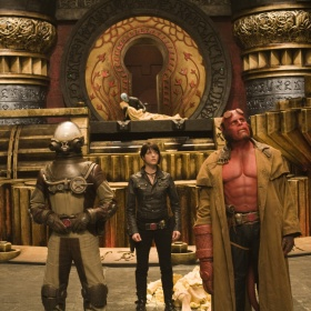 a shot from the film Hellboy 2
