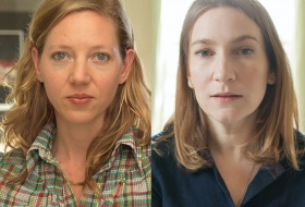 headshots of authors Maggie Nelson and Sheila Heti