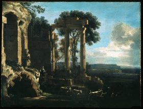 Jan Asselijn, Landscape with Ancient Ruins