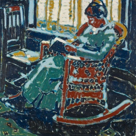 a painting by David Milne
