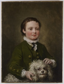 hogarth's boy in a green coat
