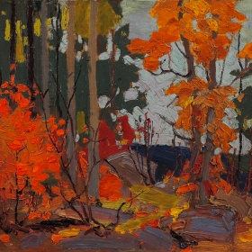 autumn, algonquin park by thom thomson