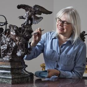 Meet the conservators art gallery of ontario conservation staff gridlist solutioingenieria Choice Image