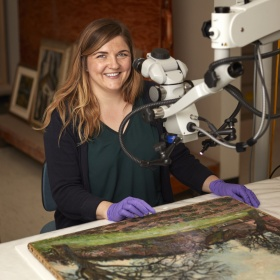 Meaghan Monaghan, Assistant Conservator, Paintings