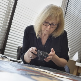 Joan Weir, Conservator, Works on Paper
