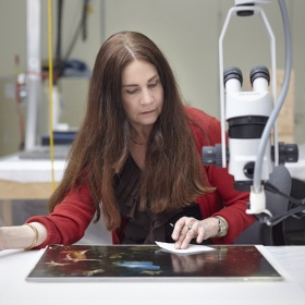 Christine Fillion, Conservator, Paintings, OPT
