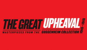 the great upheaval exhibition graphic