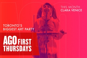 THE APRIL FIRST THURSDAY: This month Clara Venice