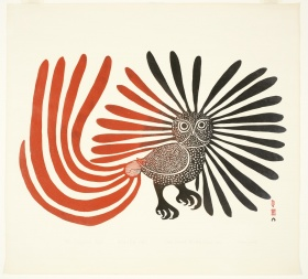 Kenojuak Ashevak, The Enchanted Owl