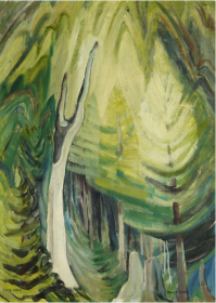 emily carr young pines