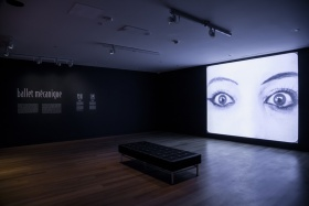 Installation view of Ballet Mécanique