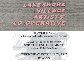 Lakeshore Village Coop Sign