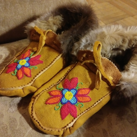 Photo of moccassins