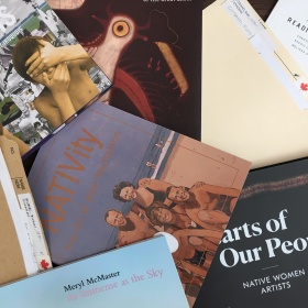 Library resources on Indigenous artists