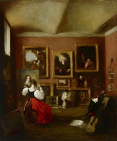 Mary Ann Alabaster's The Artist's Painting-Room