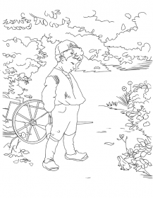 Colouring card - Young Biologist