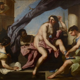 Luca Giordano, The Toilet of Bathsheba