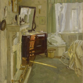 Helen Galloway McNicoll, Interior, c. 1910. Oil on canvas, overall: 55.9 x 45.9 cm. Purchase, 1976. © Art Gallery of Ontario, 75/100.