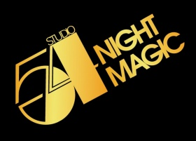 Black and gold Studio 54 logo