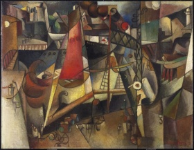 Albert Gleizes, Le Port (Marseille)