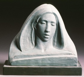 Image of sculpture of Susannah