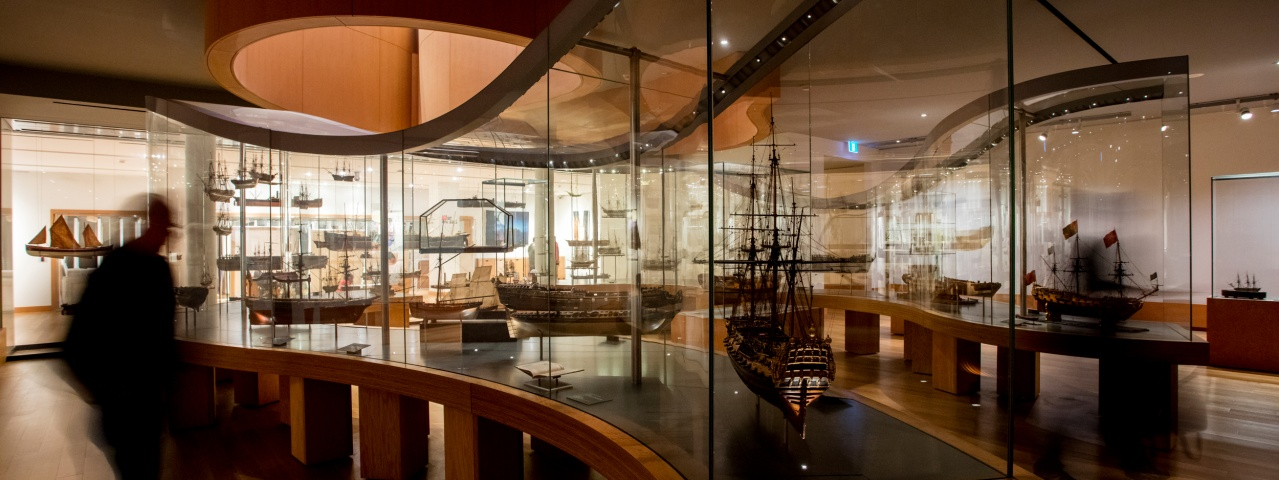 people in the ship models collection