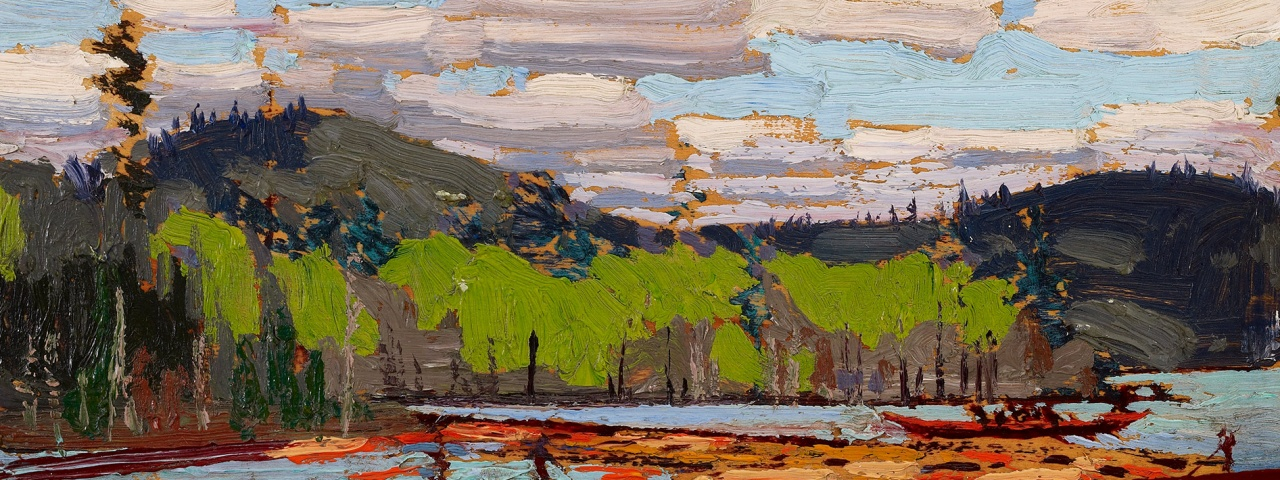 Tom Thomson, Bateux