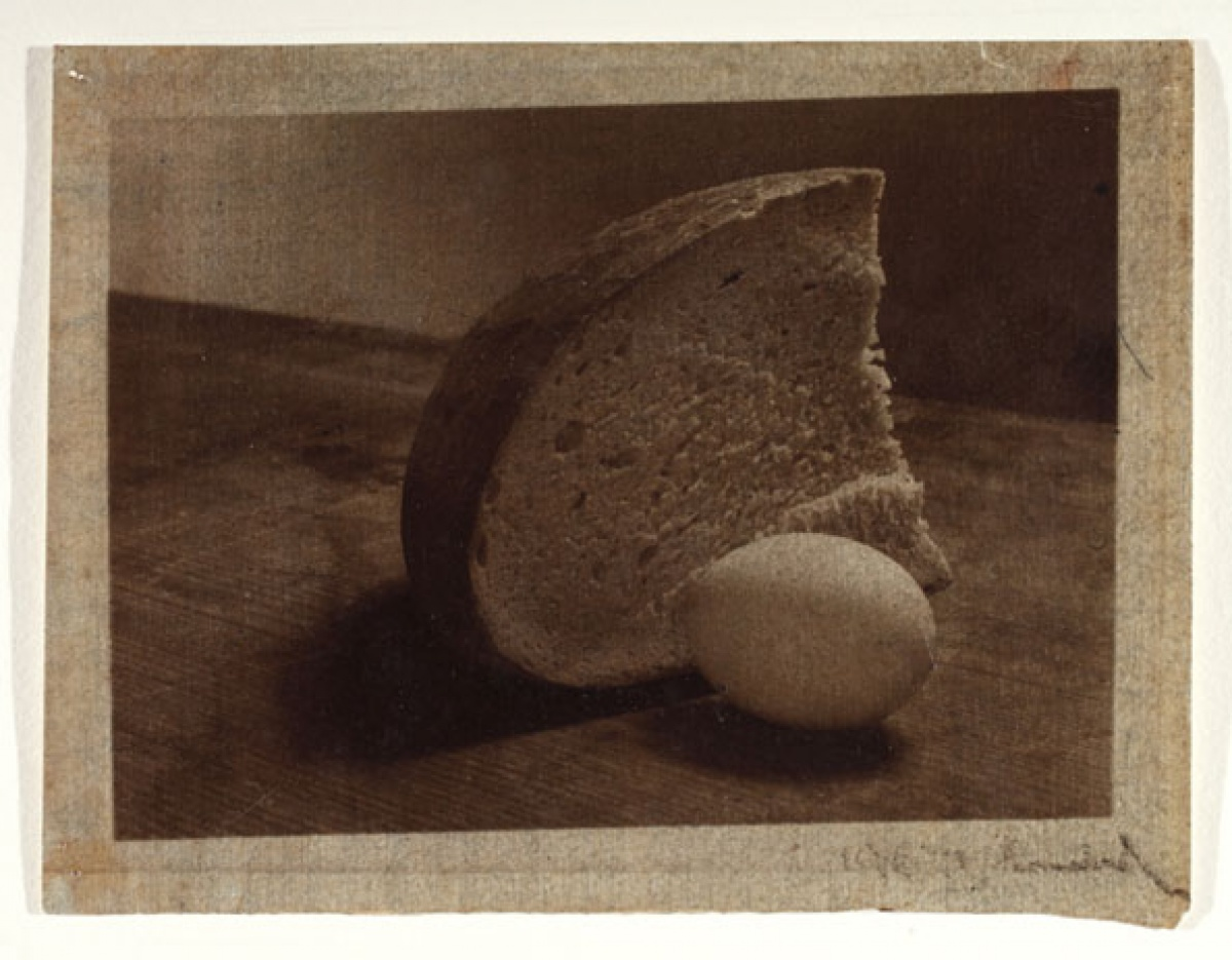 Josef Sudek, Bread and Egg, 1950
