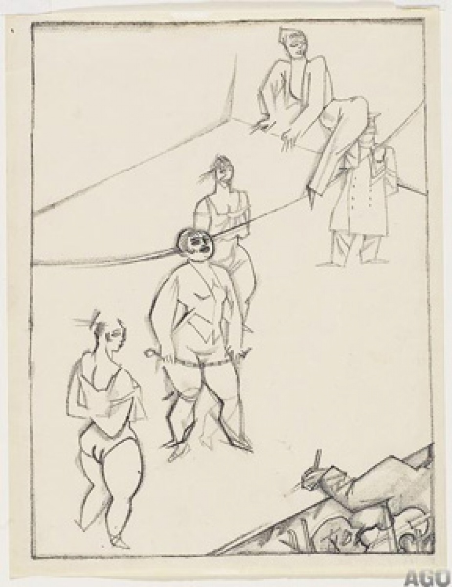 Harsh Realities The Satirical Drawings Of George Grosz Art