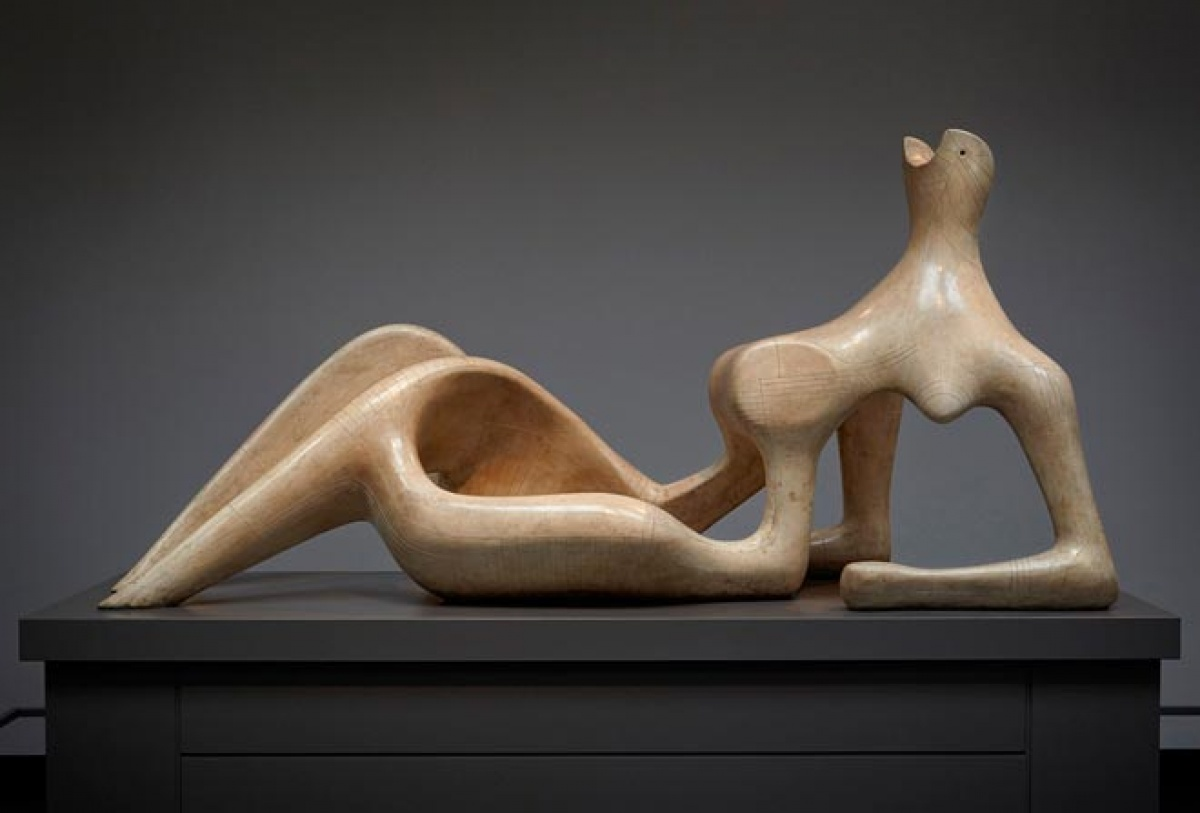Henry Moore, Reclining Figure, 1951