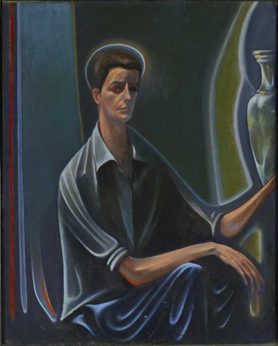 Jack Chambers, Self-Portrait No. 2, 1953
