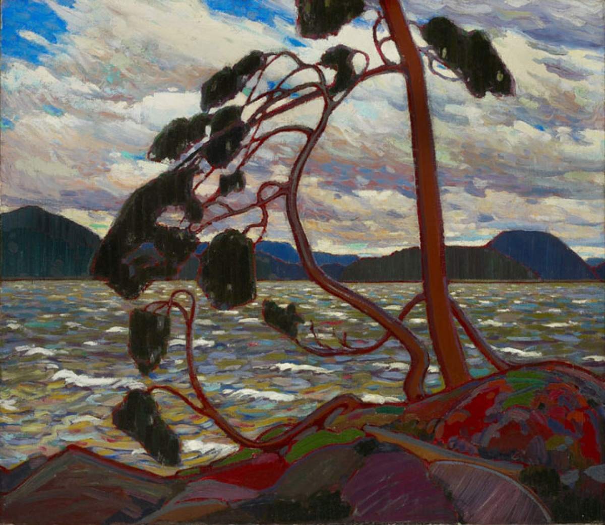 Tom Thomson, The West Wind, 1916–1917