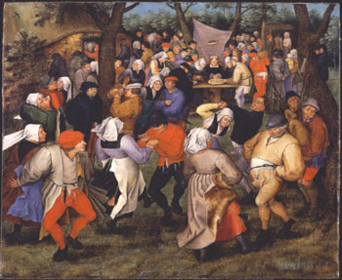 Pieter Brueghel, the Younger The Peasants' Wedding, n.d.,  oil on panel.