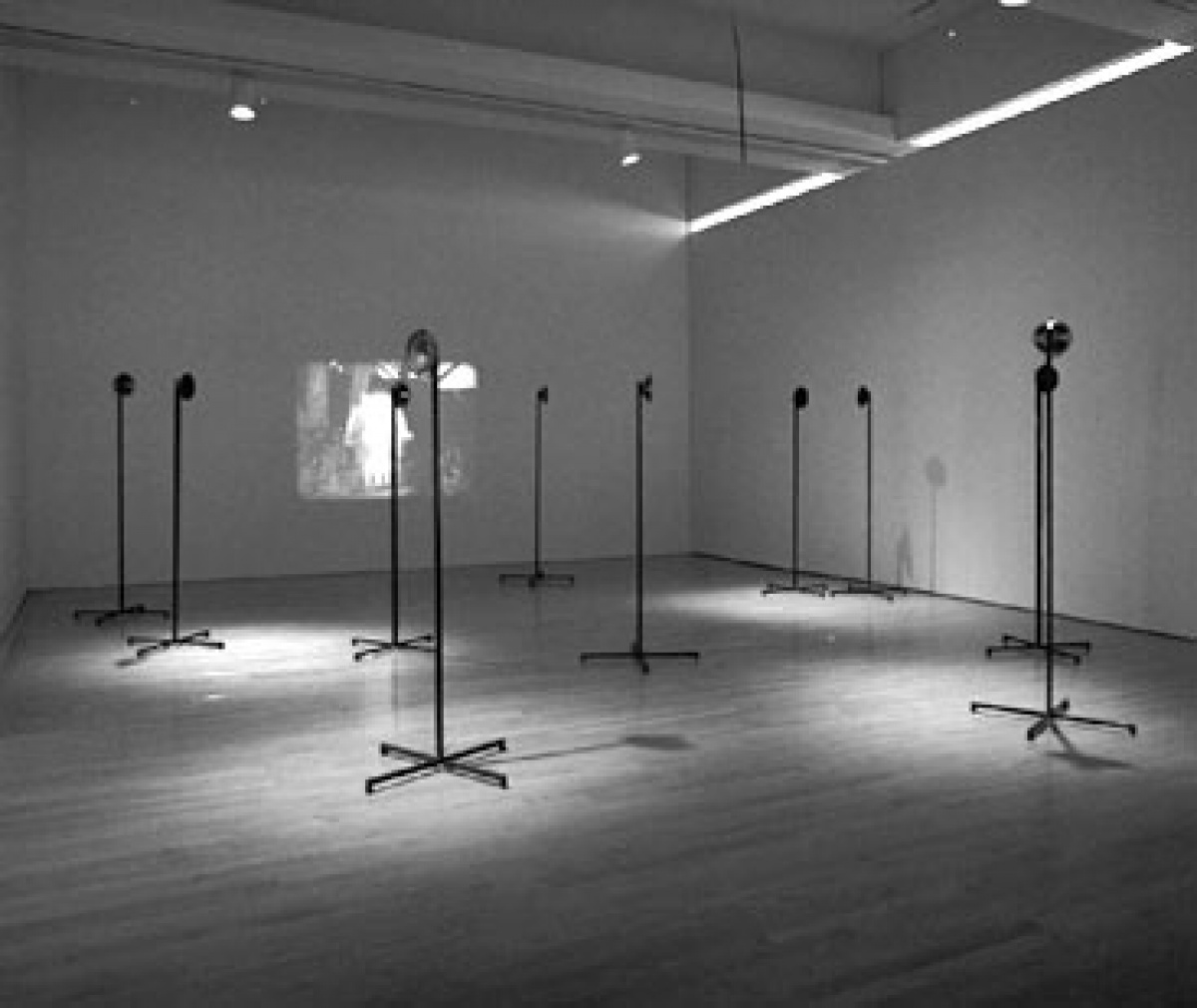 "Janet Cardiff ""Whispering Room"", 1991"