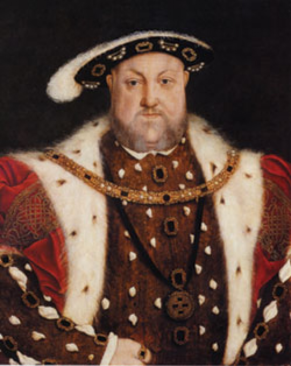 Circle of Hans Holbein the Younger, Portrait of King Henry VIII (reigned 1509-1547)